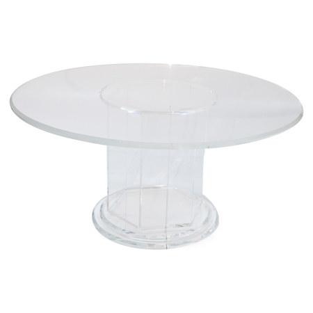 Esstisch aus Plexiglas, 20. Jahrhundert