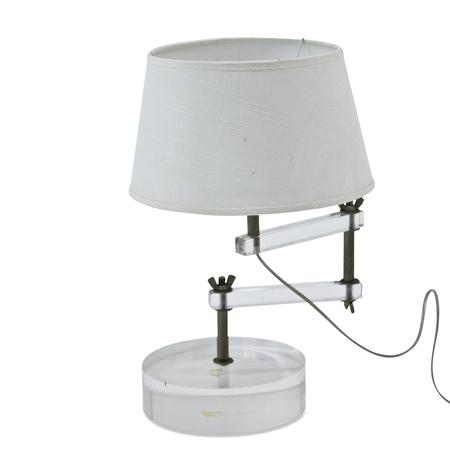 Tischlampe, sig. A. Daniele, Italien 20. Jahrhundert