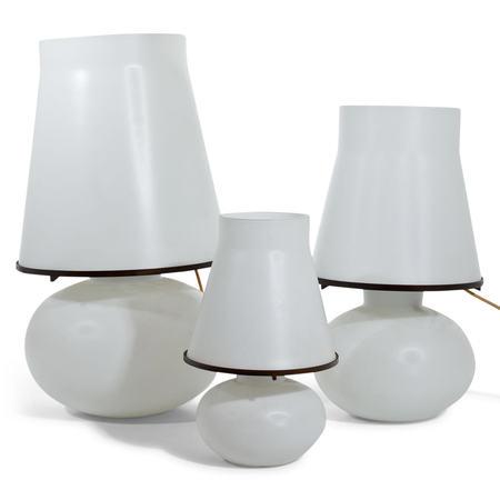 Tischlampen, Mitte 20. Jahrhundert