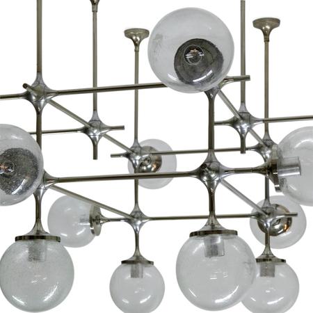 Modul-Lampe von Peter Rockel, DDR 1970er Jahre