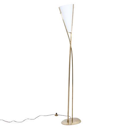 Max Ingrand Stehlampe, für Fontana Arte, Italien um 1958