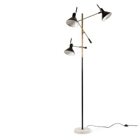 Arredoluce Stehlampe, Italien Mitte 20. Jahrhundert