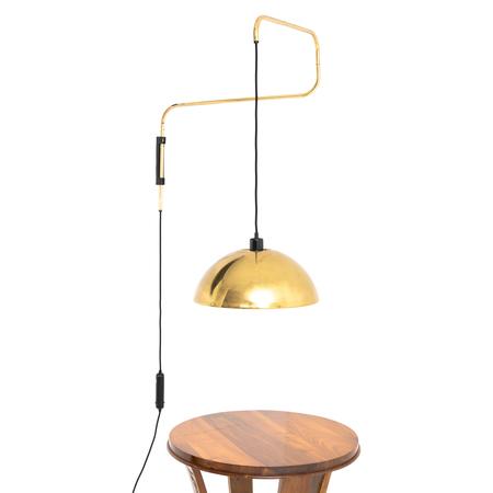 Schwenkbare Wandlampe, attr. Arredoluce, Italien 1960er Jahre