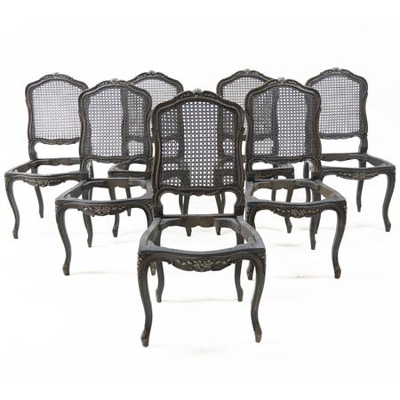 Stühle im Barockstil, 19. Jahrhundert