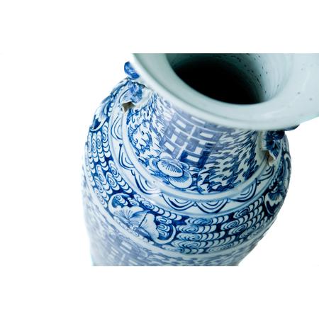 Chinesische Porzellanvase, 19./20. Jhd.