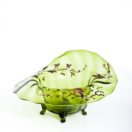Glasschale, wohl Italien um 1910