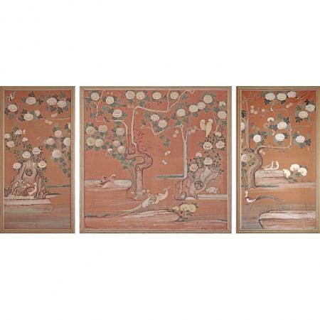 Drei Französische Wandplatten, 17./18. Jhd.