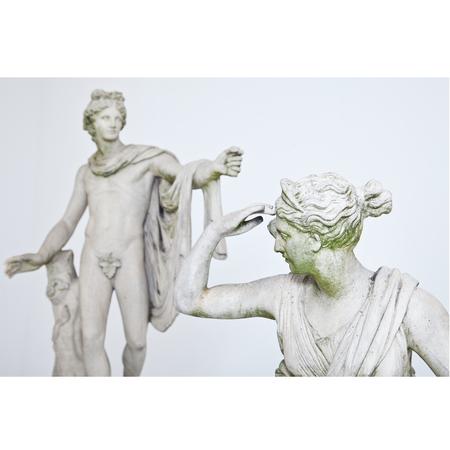 Apollo und Diana, Frankreich 2. Hälfte 19. Jahrhundert