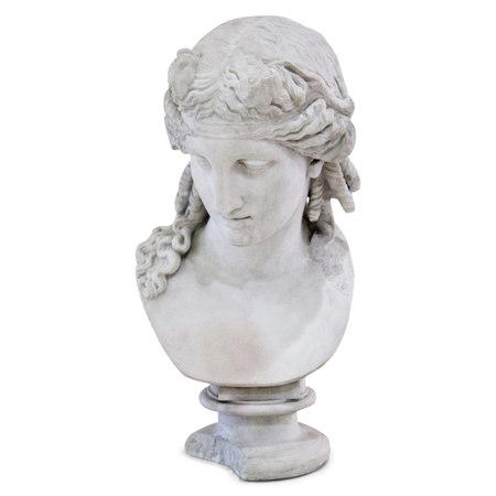 Büste des Antinoos als Dionysos, 19. Jahrhundert