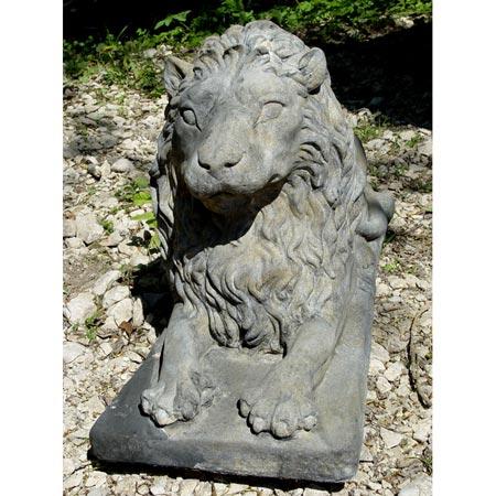 Gartenfigur: Löwe mittel