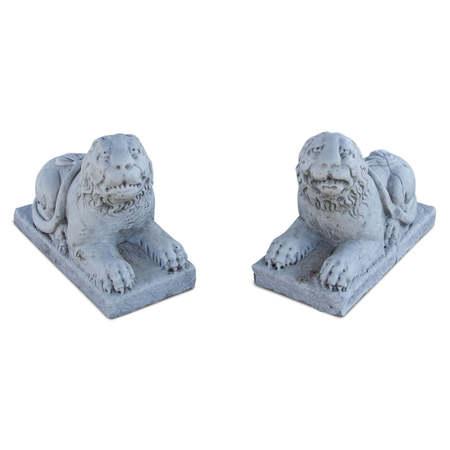 Kleine Marmor Löwen