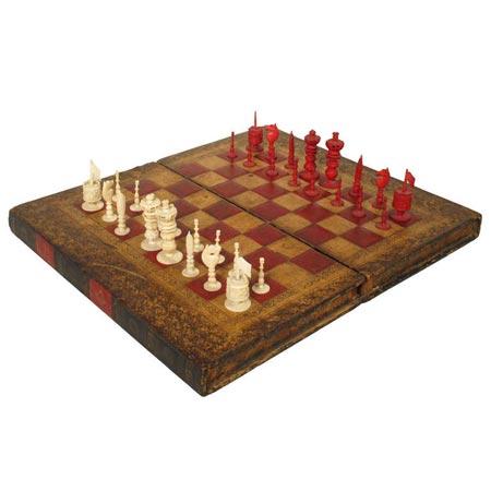 seltenes französisches Schachbrett