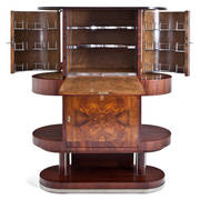 Art Deco Bar Schrank, 1920er
