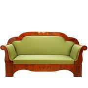 Biedermeier Sofa, um 1830