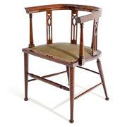 Schreibtischstuhl, England Anfang 20. Jahrhundert