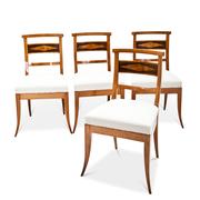 Biedermeier Stühle, Anfang 19. Jhd.