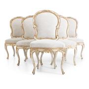 Esszimmerstühle, Italien 2. Hälfte 18. Jahrhundert