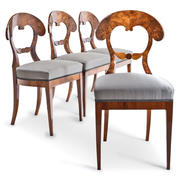Biedermeier Stühle, 1820er Jahre