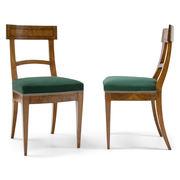 Biedermeier Stühle, um 1820