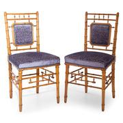 Stühle in Bambus Optik, wohl Frankreich 19. Jahrhundert