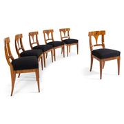 Biedermeier Esszimmerstühle, um 1820