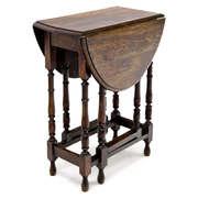 Gateleg Tisch, 19. Jahrhundert