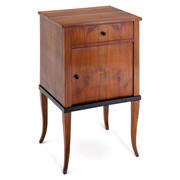 Biedermeier Nachttisch, 1820er Jahre