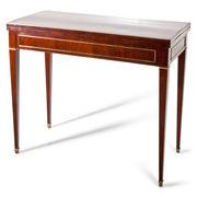 Biedermeier Spieltisch, 1. Hälfte 19. Jahrhundert