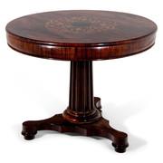 Spätbiedermeier Tisch, um 1840