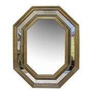Spiegel mit altem Glas, 19./20. Jhd.