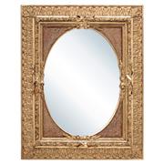 Spiegel mit Stuckrahmen, Frankreich 2. Hl. 19. Jhd.