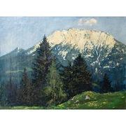 Ludwig von Senger (1873-1937) Alpenlandschaft