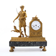 Empire Pendule sig. Bailly, Paris Anfang 19. Jahrhundert