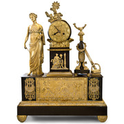 Empire Pendule, Frankreich 1. V. 19. Jhd.
