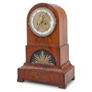 Biedermeier Uhr, Norddeutsch wohl Bremen um 1820
