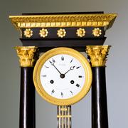Charles X Portal Pendule, Frankreich um 1830