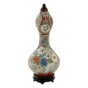 Japanische Porzellan Kürbisflasche, wohl 19. Jhd.
