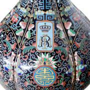 Cloisonné-Vase, um 1900
