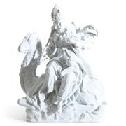 Meissen Marcolini Porzellangruppe, Erdteil Asien, um 1775