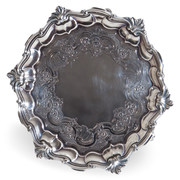 George II Salver, James Morrison, London 1744