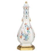 Sake Flasche, wohl Chantilly, Frankreich 18. Jahrhundert
