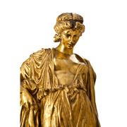 Bronze der Sappho von J. Clésinger (1814-1883), Frankreich 19. Jhd.