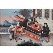 Chinesisches Hinterglasbild, 18. Jhd.
