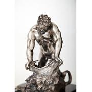 Herkules im Kampf mit dem Nemeischen Löwen, 19. Jahrhundert