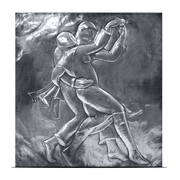 Art Deco Relief attr. Alfredo Biagini, Italien 1920er Jahre