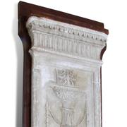 Gipsrelief, 2 Hälfte 19. Jahrhundert