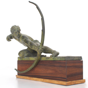 Bogenschütze von A. Kelety, Anfang 20. Jahrhundert