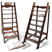 Bibliotheksleitern, 19./20. Jahrhundert
