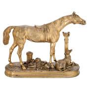 Bronze Pferd von Moigniez, 2. H. 19. Jahrhundert