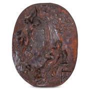 Relief Maria Verkündigung, wohl Süddeutsch 18. Jahrhundert